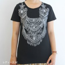 A Bride's Story Necklace Patterned T-Shirt