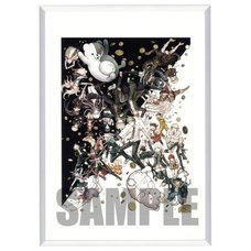 Danganronpa 1・2 Reload Framed Crystal Print