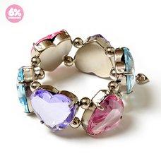 6%DOKIDOKI Like a Doll Jewel Heart Bracelet