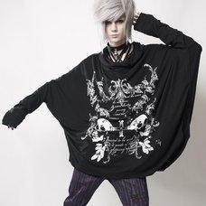 SEX POT ReVeNGe Mirror Skull Dolman Sleeve Shirt