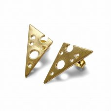 Lilou Cheese Stud Earrings
