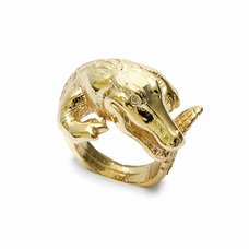 Lilou Animal Tail Crocodile Ring