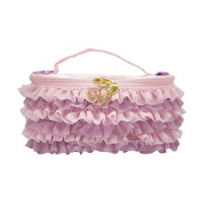 pink trick Frilly Vanity Case
