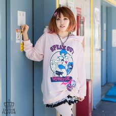 LISTEN FLAVOR Komaru Naegi Ultra Despair Girls Hoodie