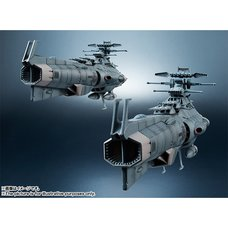 Kikan Taizen 1/2000 Scale Space Battleship Yamato 2202 U.N.C.F. D-1 Ship Set