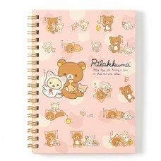 Nonbiri Neko Rilakkuma B6 Spiral Notebooks