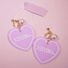 KOKOkim Heart Earrings