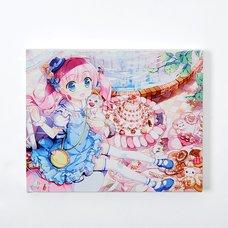 Eshi 100 Exhibit 04 Canvas Art - Sweet Sweet Cat Tower