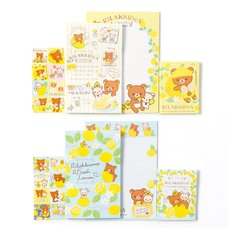 A Basketful of Lemons Rilakkuma Mini Letter Set