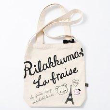 Rilakkuma 2 Way Tote Bag- La Fraise A Paris