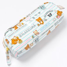 Rilakkuma Lined Paper Pencil Pouch