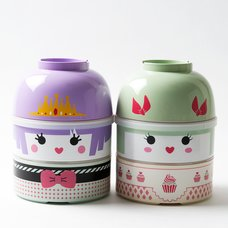 Kokeshi Bento (L): Cute