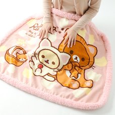 Nonbiri Neko Rilakkuma Lap Blanket