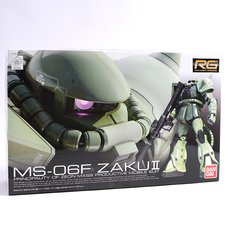 Real Grade Gundam Zaku II 1/144th Scale Plastic Model Kit