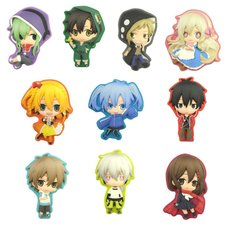 Deco Rich Mekakucity Actors Button Collection