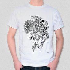 """Illustrated T-Shirt: ishida val's """"Quetzal cóatl"""""""