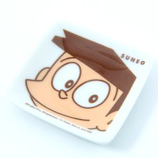 Doraemon Suneo Small Square Plate