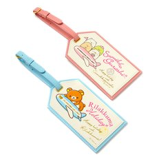 Care & Travel Item Luggage Tag | Rilakkuma/Sumikko Gurashi
