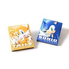 Sonic the Hedgehog Sonic & Tails PVC Pin Set