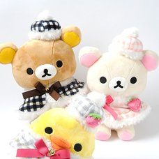 La Fraise a Paris Rilakkuma Atsumete Plush Collection
