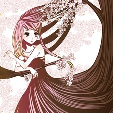 """Sakura Exhibition: toMoka """"Cherry Tree"""" Poster"""