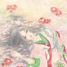 """Sakura Exhibition: Shoko Komiya """"Floral Memories"""" Poster"""