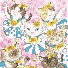 "Sakura Exhibition: Midori Furuhashi ""The Idol Unit MeowMeows"" Poster"