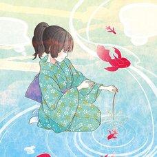 "Sakura Exhibition: kamiyuki ""Goldfish of Fireworks"" Poster"