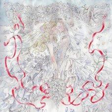 "Sakura Exhibition: mukaida kaoru ""White Lilly Wedding"" Poster"
