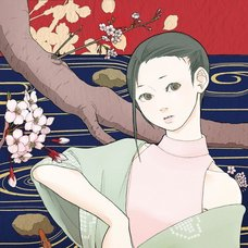"Sakura Exhibition: Komuro ""Spring of Shakujii River"" Poster"