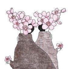 """Sakura Exhibition: Kumi """"Ishizue"""" Poster"""