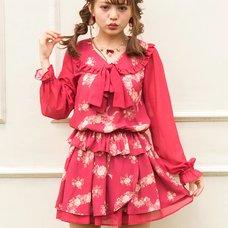 LIZ LISA Bouquet Hearts Sukapan Skirt