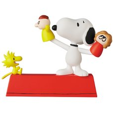 Ultra Detail Figure Peanuts Series 11: Puppet Snoopy & Woodstock