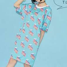 ACDC RAG USA Cake T-Shirt Dress