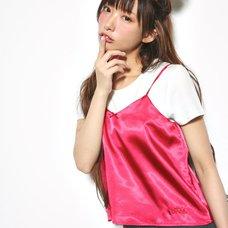 Love Live! Sunshine!! Satin Red Camisole & T-Shirt Set