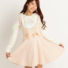 LIZ LISA Wool Blend Pinafore Dress