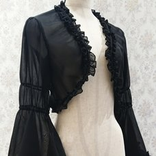Atelier Pierrot See-Through Chiffon Bolero
