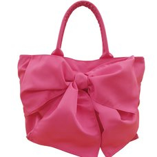 pink trick Wraparound-Style Ribbon Tote