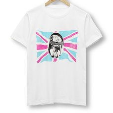 Hatsune Miku God Save the Mikueen White T-Shirt