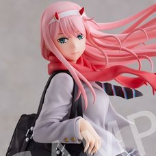 Darling in the Franxx  Zero Two: School Uniform Ver. 1/7 Scale Figure