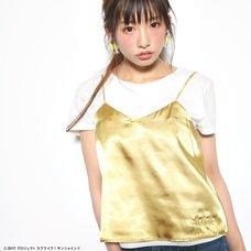 Love Live! Sunshine!! Satin Yellow Camisole & T-Shirt Set