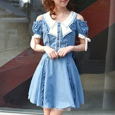 LIZ LISA Dungaree Dress