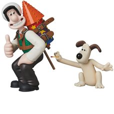 Ultra Detail Figure Aardman Animations #2: Wallace & Gromit