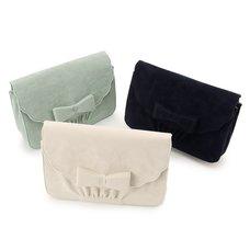 LIZ LISA Scallop Ribbon Shoulder Bag