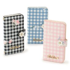 LIZ LISA Gingham Flower iPhone Case