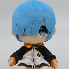 Re:Zero -Starting Life in Another World- Rem: Subaru's Training Wear Ver. Plush
