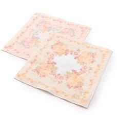 LIZ LISA Intricate Rose Handkerchief