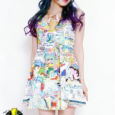 galaxxxy 8 Words Wall Paint Dress