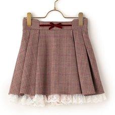 LIZ LISA Glen Plaid Sukapan Skirt