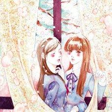 """Sakura Exhibition: Maya TAKAHASHI """"Please Don't Leave Me, Ms. Spring"""" Poster"""